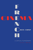 Pdf French Cinema—A Critical Filmography Telecharger