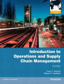 Introduction to Operations and Supply Chain Management  International Edition