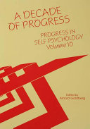 Progress in Self Psychology  V  10