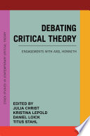 Debating Critical Theory