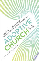 Adoptive Church  Youth  Family  and Culture
