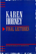 Final Lectures