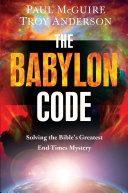 The Babylon Code Book PDF
