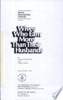 Wives who Earn More Than Their Husbands