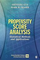 Propensity Score Analysis Book