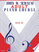 Adult Piano Course  Book 3