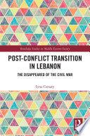 Post-Conflict Transition in Lebanon