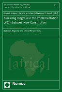 Assessing Progress in the Implementation of Zimbabwe's New Constitution