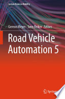 Road Vehicle Automation 5