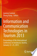 Information and Communication Technologies in Tourism 2013 Book PDF
