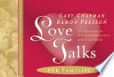 Love Talks for Families Book
