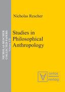 Studies in Philosophical Anthropology Pdf/ePub eBook