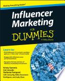 """Influencer Marketing For Dummies"" by Kristy Sammis, Cat Lincoln, Stefania Pomponi, Jenny Ng, Edita Gassmann Rodriguez, Judy Zhou"