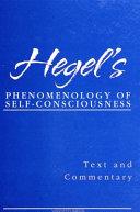 Hegel s Phenomenology of Self Consciousness
