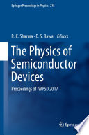 The Physics Of Semiconductor Devices Book PDF