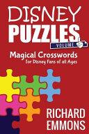 Disney Puzzles  Volume One
