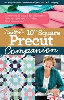 Quilter   s 10    Square Precut Companion