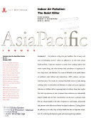 Asia Pacific Issues