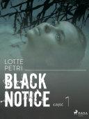 Black notice: część 1 ebook