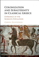 Colonization and Subalternity in Classical Greece