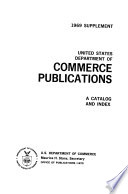 United States Department Of Commerce Publications