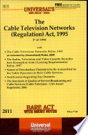 The Cable Television Networks (Regulation) Act, 1995