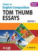 Step To English Composition Tom Thumb Essays Book-1 [Pdf/ePub] eBook