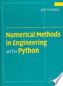 Numerical Methods In Engineering With Python Book PDF