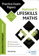 National 5 Lifeskills Maths: Practice Papers for SQA Exams