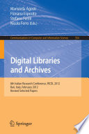 Digital Libraries And Archives Book PDF