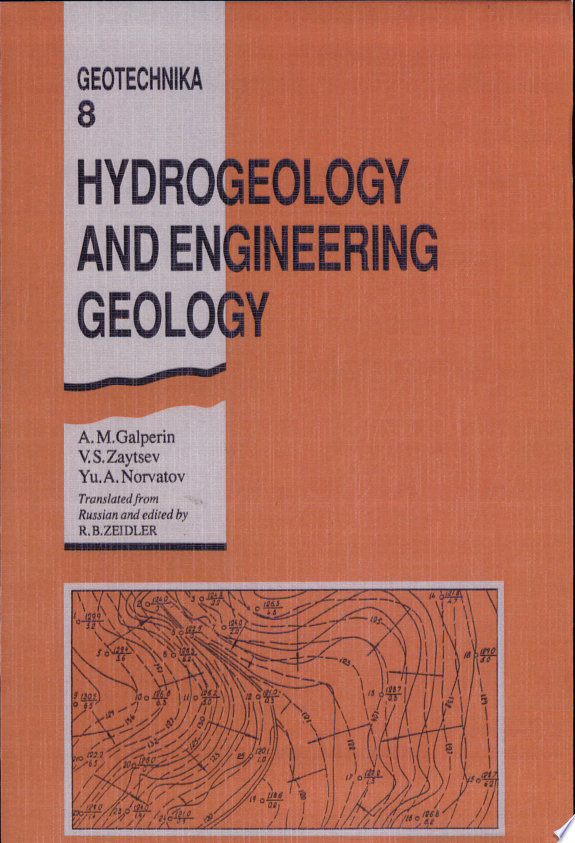 Hydrogeology and Engineering Geology
