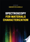 Spectroscopy for Materials Characterization