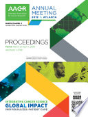 AACR 2019 Proceedings  Abstracts 1 2748