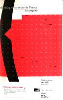 Bibliographie nationale française
