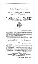 Gold and Name