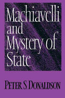 Machiavelli and Mystery of State ebook