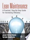 Lean Maintenance Book