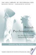 British Psychoanalysis