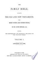 The Family Bible Genesis To Job