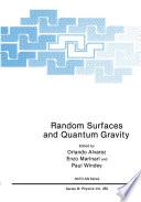 Random Surfaces and Quantum Gravity