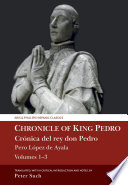 Chronicle Of King Pedro Volumes 1 3
