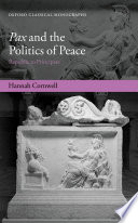 Pax and the Politics of Peace Book