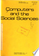 Computers and the Social Sciences