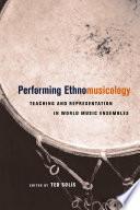 Performing Ethnomusicology Book PDF