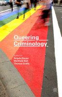 Queering Criminology Pdf/ePub eBook