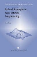 Pdf Bi-Level Strategies in Semi-Infinite Programming Telecharger