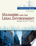 Managers And The Legal Environment Strategies For The 21st Century [Pdf/ePub] eBook