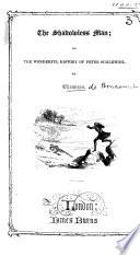 The Shadowless Man Book