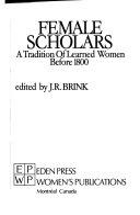 Pdf Female Scholars