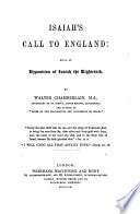 Isaiah s Call to England  being an exposition of Isaiah the eighteenth